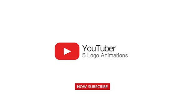 Videohive Youtuber Logo Stings - 5 Versions 20199981