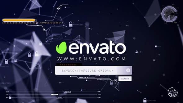 Videohive ctOS - Login Hack Logo Reveal 12372249