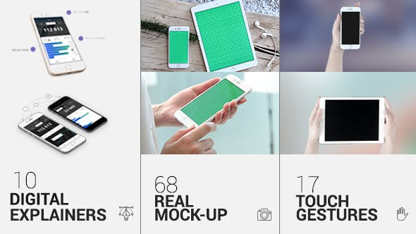 Videohive iTouch 2 - App Promo Mock-Up Kit 11589383