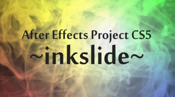 Videohive ink Project folder