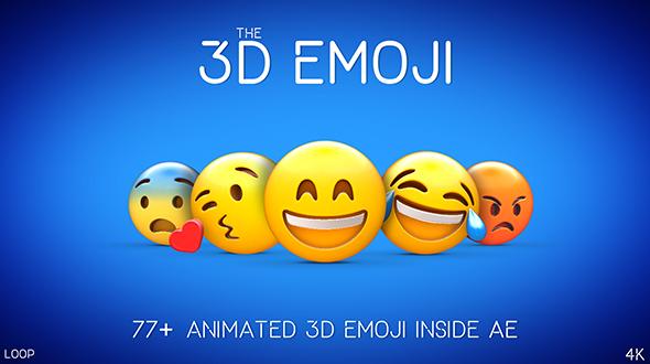 Videohive 3D EMOJI 20410223