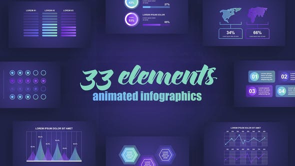 Videohive Abstract Infographics Vol.42 27462394
