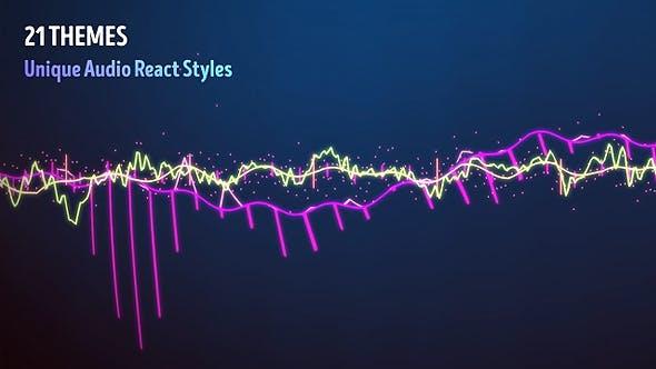 Videohive Audio Visualizer Music React 13321449