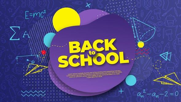 Videohive Back to School Intro Opener 28275390
