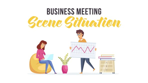 Videohive Business meeting - Scene Situation 28479990