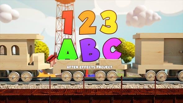 Videohive Childrens Train 27774044