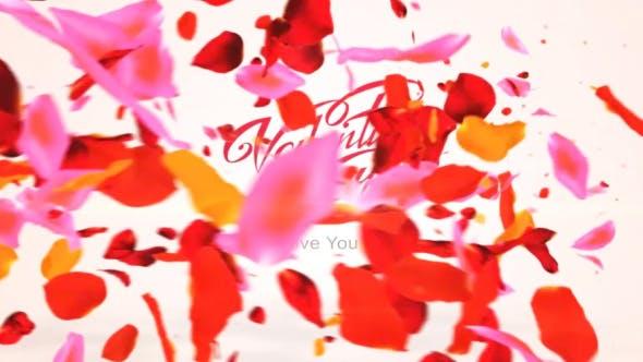Videohive Colors Petals Logo 19779838