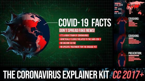 Videohive Corona virus explainer kit 26167114
