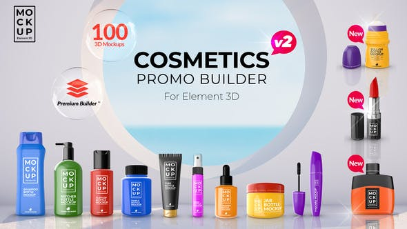Videohive Cosmetics Promo Builder 27750938