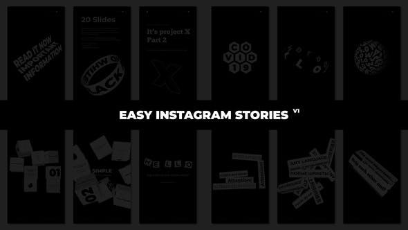 Videohive Easy Instagram Stories 28569456