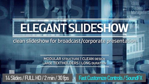 Videohive Elegant Slideshow 13082231