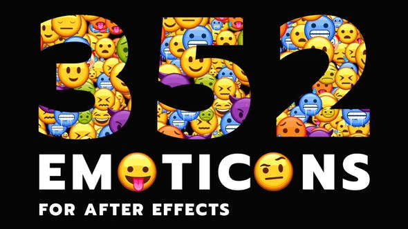 Videohive Emoticon - Animated Emojis Pack 28314889