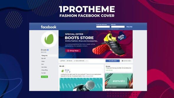 Videohive Fashion Facebook Cover V06 27455866