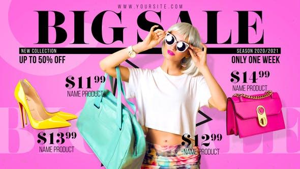 Videohive Fashion Sale - Store Promo 28304634