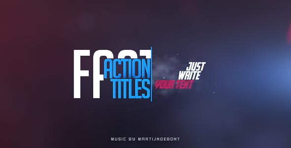 Videohive Fast Action Titles 19810194