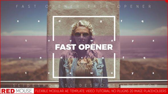 Videohive Fast Modern Opener 22060812