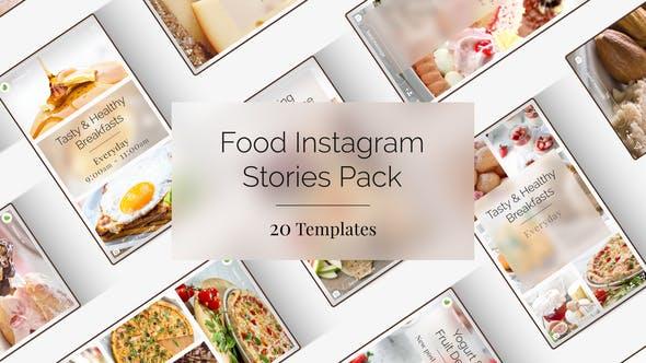 Videohive Food Instagram Stories 24135744