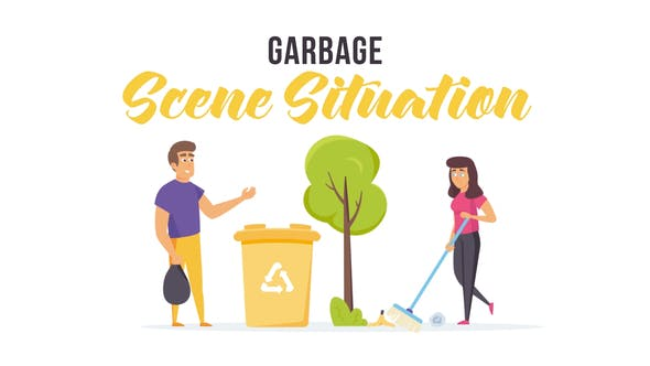Videohive Garbage - Scene Situation 27608129