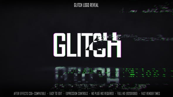 Videohive Glitch Logo Reveal 27534224