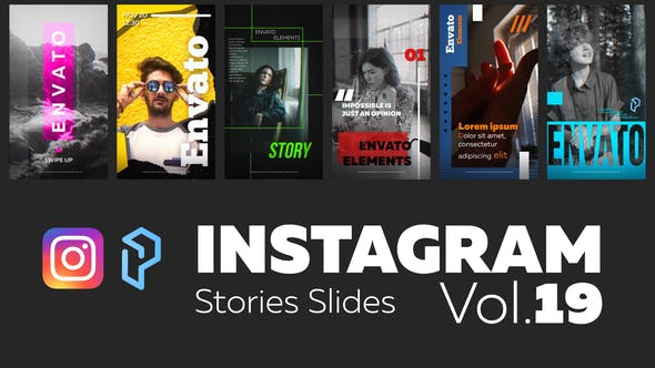 Videohive Instagram Stories Slides Vol. 19 28713323