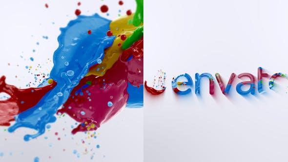 Videohive Liquid Paint Splash Logo 2 27383658