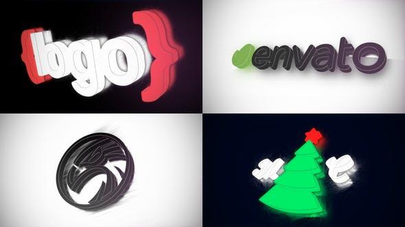 Videohive Logo Reflection - Logo Reveal 24901435
