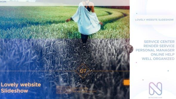 Videohive Lovely Slideshow 21330606