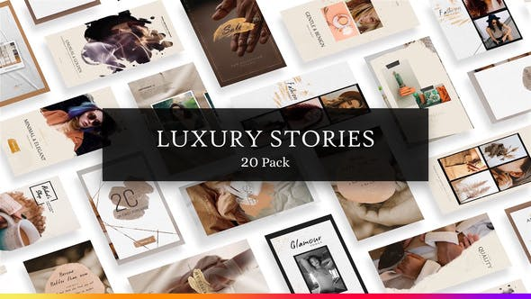 Videohive Luxury Instagram Stories 28496277
