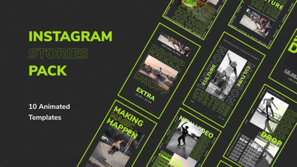 Videohive Modern Instagram Stories 28368601