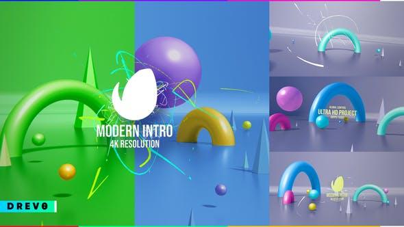 Videohive Modern Intro Simple Promo 29051666