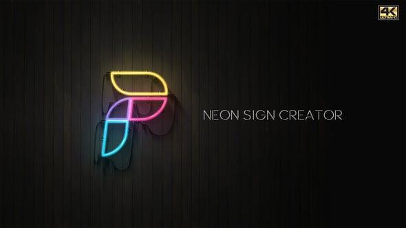 Videohive Neon Sign Creator 23717672