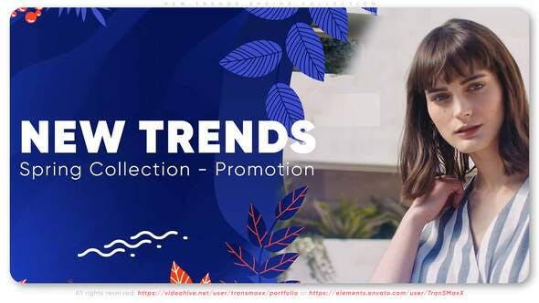 Videohive New Trends Spring Collection 28116797