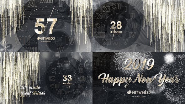 Videohive New Year Countdown 2019 22902316