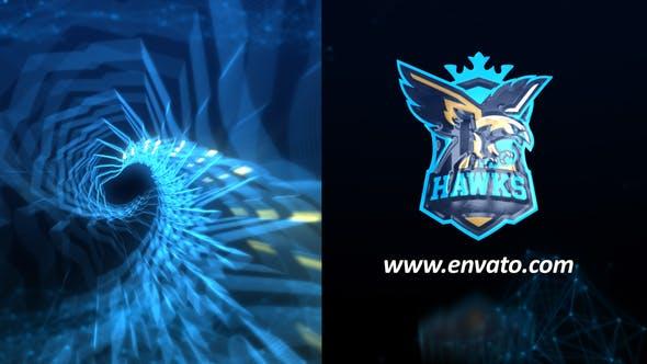 Videohive Plexus Glitch Logo Reveal 24851241