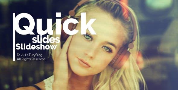 Videohive Quick Slides Slideshow 21151642