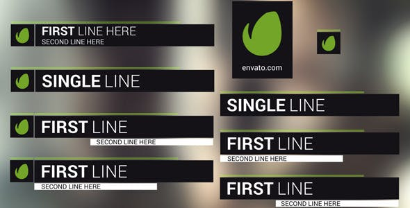 Videohive Ripple Lower Thirds 11635973