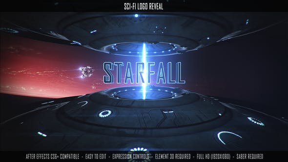 Videohive Sci-Fi Logo Reveal 27617409
