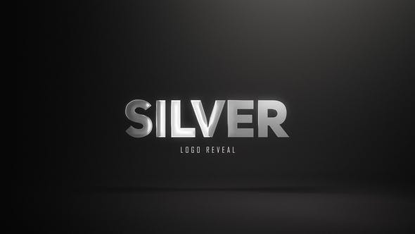 Videohive Silver Logo Reveal (3 versions) 26714302