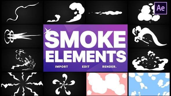 Videohive Smoke Elements Pack 05 28145657