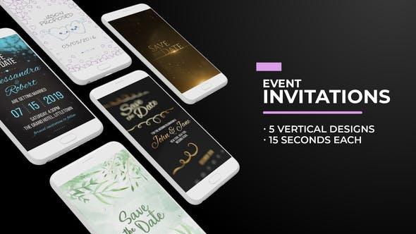 Videohive Social Media Event Invitations 28843012