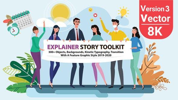 Videohive Story Maker Explainer Toolkit 25220783