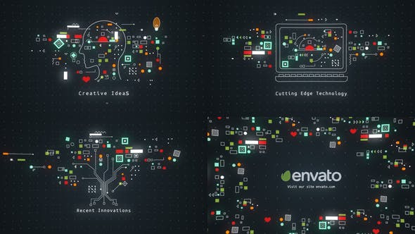 Videohive Technology Concept Opener 22489522