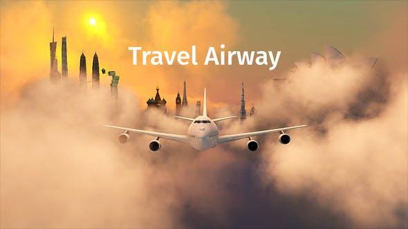 Videohive Travel - Airway 22444147