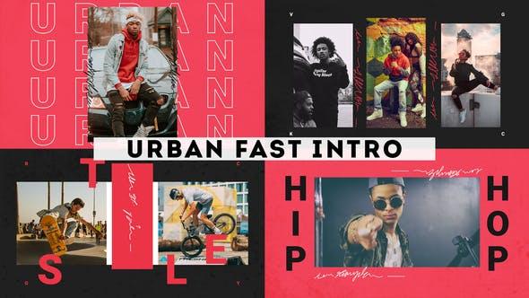 Videohive Urban Fast Intro 28514320