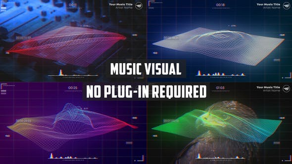 Videohive Wave Music Visualizer 27544136