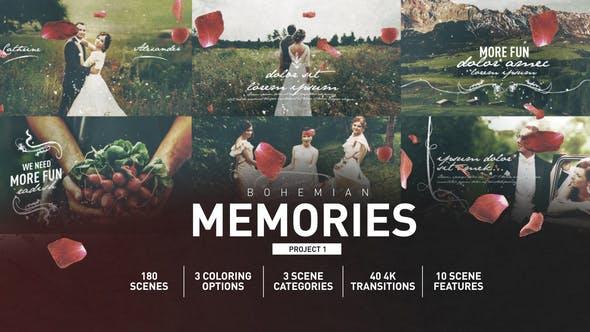 Videohive Wedding Memories 25652795