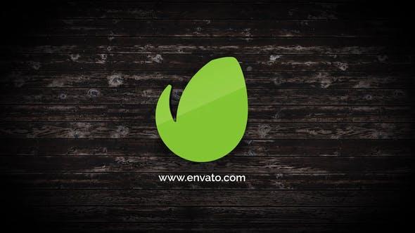 Videohive Wood Logo Reveal 23350139