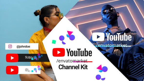 Videohive Youtube Channel Kit 28403530