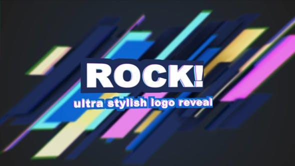 Videohive 80s Ultra Stylish Electro Logo Reveal 4950290