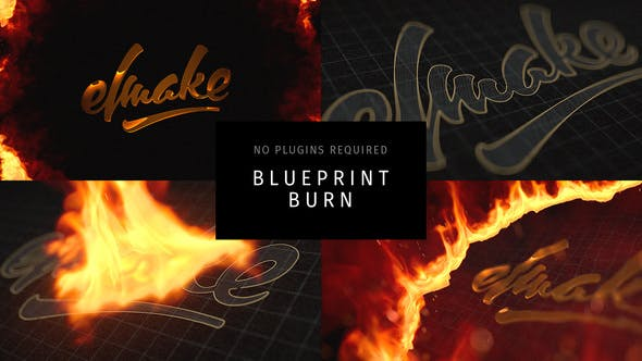 Videohive Blueprint Burn 27986555
